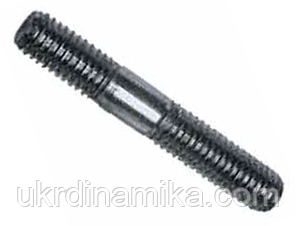 Шпилька М18 ГОСТ 22034-76, 22035-76 з ввинчиваемым кінцем 1,25 d, фото 2