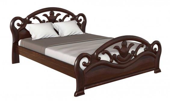 ✅ Деревянная кровать Л-221 160х190 см ТМ Скиф