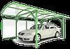 Установка навеса для авто из поликарбоната - Киев | Цена строительства автомобильных навесов для дачи