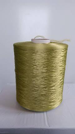 Нитки для оверлока ковролина хаки, фото 2