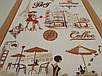 """Ткань вафельная ширина 50 см  Завтрак в Париже / """"Чарівна Ніч"""", фото 4"""
