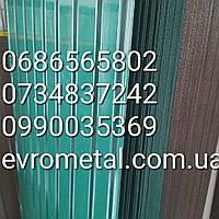 Профнастил зеленый 2метра