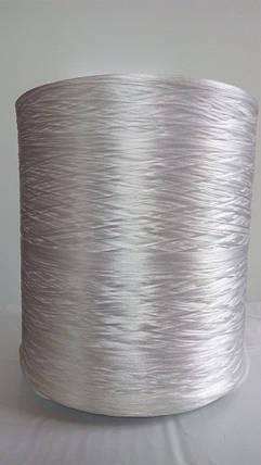 Нитка для оверлока ковролина белая, фото 2