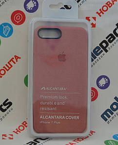 Оригинальный Чехол Alcantara Cover для Apple iPhone 7 Plus (Танго) (Акция!)
