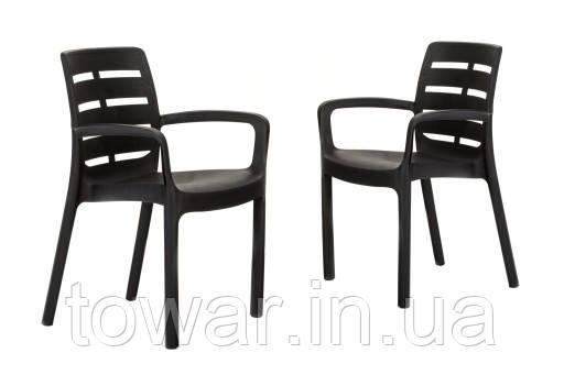 Садовый набор из 2 стульев Borneo EUROHIT Garden
