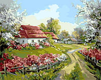 Картина по номерам Родное село, 40x50 (AS0156), фото 1