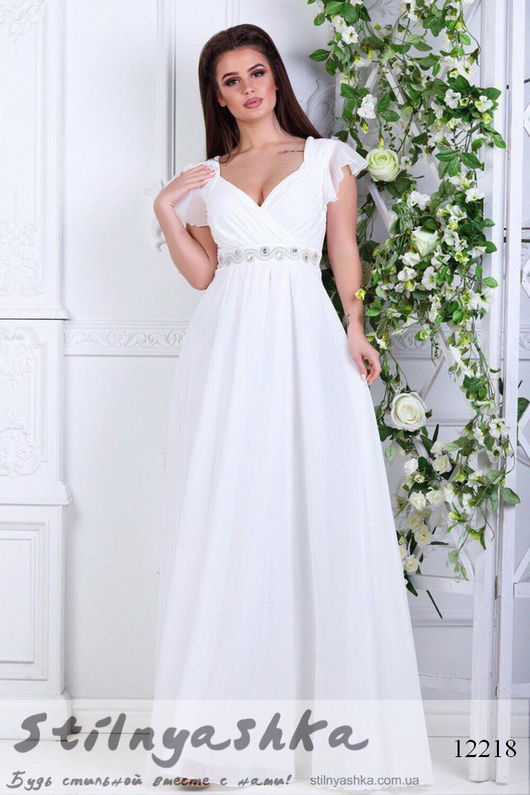 5415bbef556 Платье в греческом стиле Афродита белое - купить оптом и розницу в ...