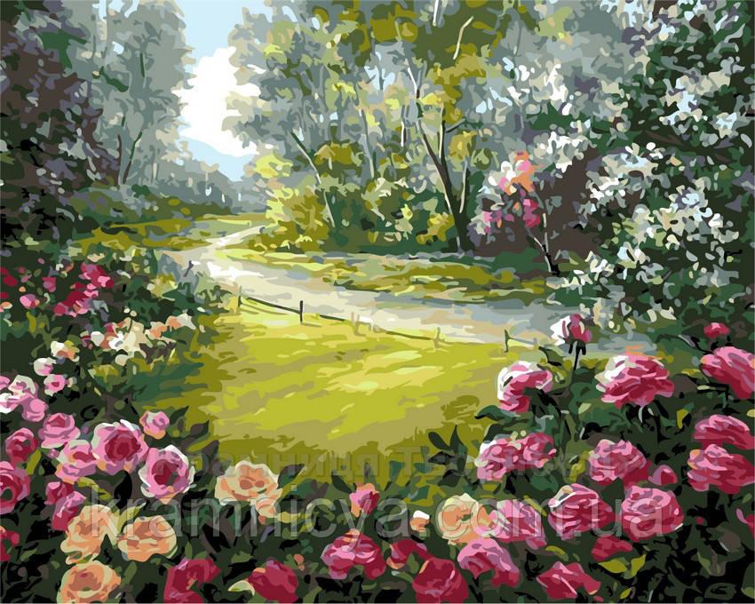 Картина по номерам Дорога к дому, 40x50 (AS0157)