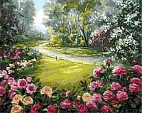 Картина по номерам Дорога к дому, 40x50 (AS0157), фото 1