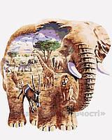 Картина по номерам В мире животных, 40x50 (AS0176)