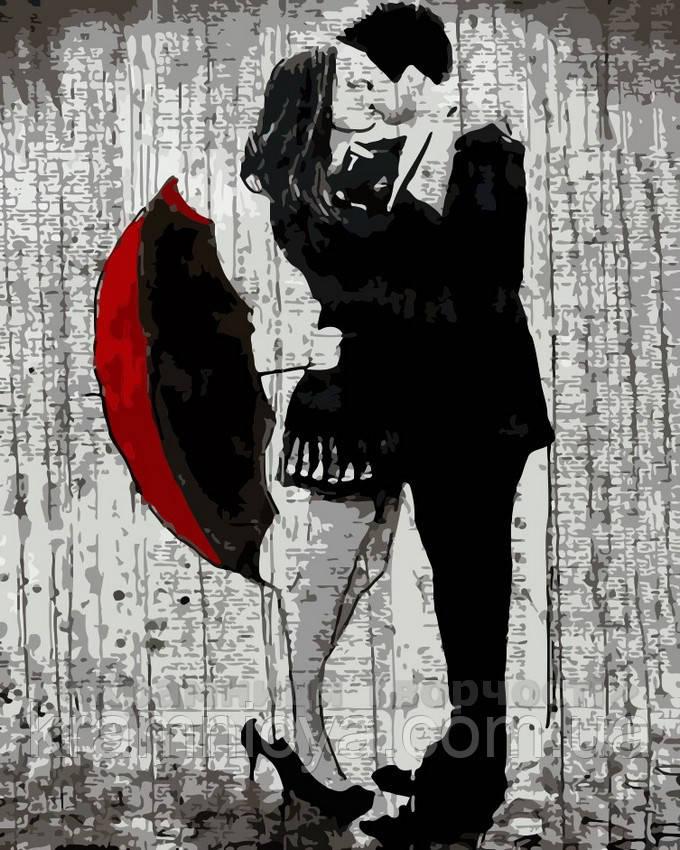 Картина по номерам Нежные объятия, 40x50 (AS0187)