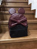 Женский декорированный рюкзак, в расцветках