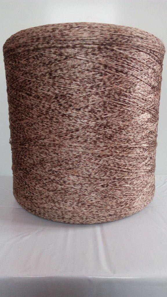 Нить для оверлока ковролина коричневая плямистая