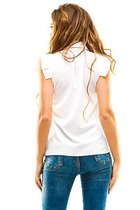 Блузка 272 белая, фото 2