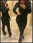 Стильный женский костюм двойка, фото 2