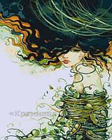 Картина по номерам Девушка-лето, 40x50 (AS0194), фото 1