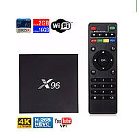 Андроид ТВ-приставка X96 2G/16G (mini M8S) smart TV box