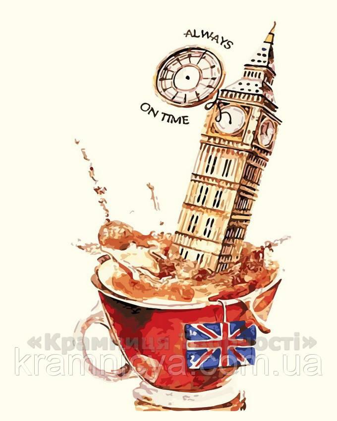 Картина по номерам Чай по-английски, 40x50 (AS0208)
