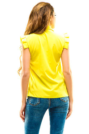 Блузка 272 желтая, фото 2
