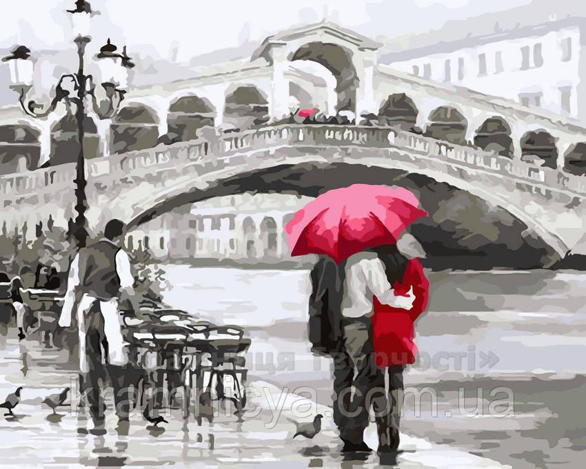 Картина по номерам Свидание в Венеции, 40x50 (AS0044)