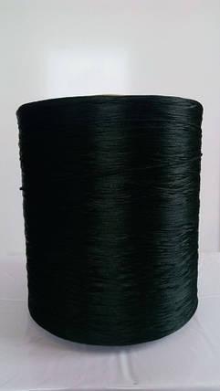 Нить для коврового оверлока темно-зеленая, фото 2