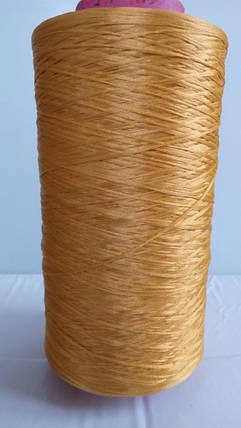 Нить для коврового оверлока темно-желтая, фото 2