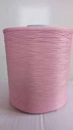 Нитки для коврового оверлока светло-розовая, фото 2
