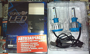 Лампы LED Н-1 12-24V 6000к 4200lm. к-т с 2-х шт. Turbo Led