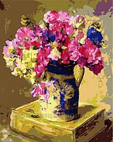 Картина по номерам Цветочная история, 40x50 (AS0121), фото 1