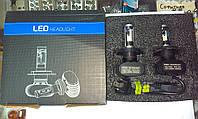 Лампы LED Н-4 12-24V 6000к 4200lm к-т с 2-х шт. 7 поколение