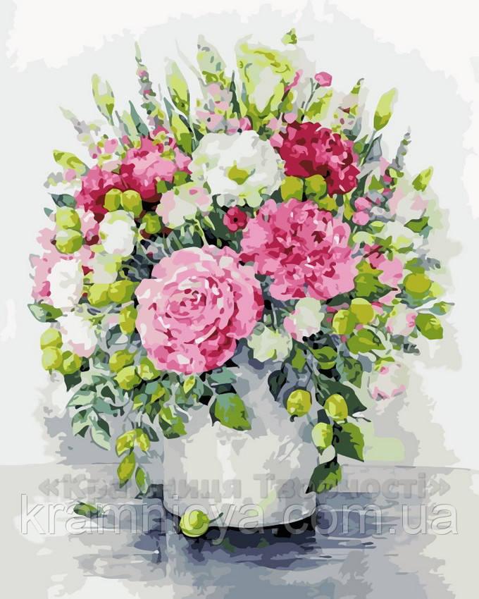 Картина по номерам Изящные цветы, 40x50 (AS0125)