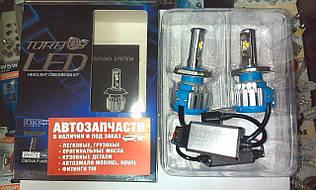 Лампа LED вентилятор H4 12-24V 6000K к-т Turbo Led