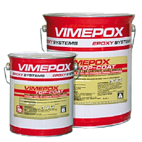 Эпоксидный двухкомпонентный  цветной состав для финишного покрытия VIMEPOX TOP-COAT