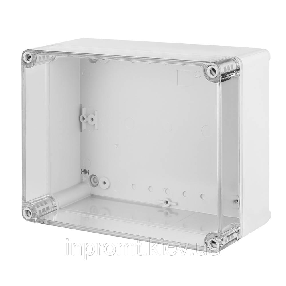 INDUSTRIAL Box коробка накладна 220x170x86 прозора, IP 65