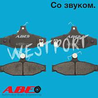 Тормозные колодки ABE Daewoo KORANDO Daewoo MUSSO Daewoo REXTON Audi A6 Chevrolet CAMARO Дисковые Со звуком износа C20003ABE