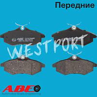 Тормозные колодки ABE Citroen C2 Citroen C3 Передние Дисковые Без датчика износа C1C038ABE