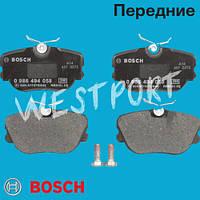 Тормозные колодки Bosch Передние Дисковые Под датчик износа 0 986 494 058