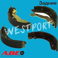 Тормозные колодки ABE Honda CONCERTO Honda CIVIC Задние Барабанные C04015ABE