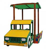 Детская цветная песочница-грузовик
