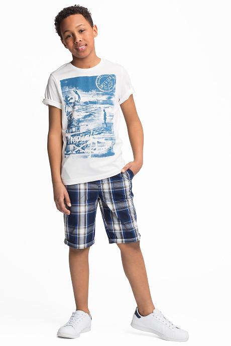 Качественный летний набор футболки и шорт для мальчика C&A Германия Размер 146-152, 158-164