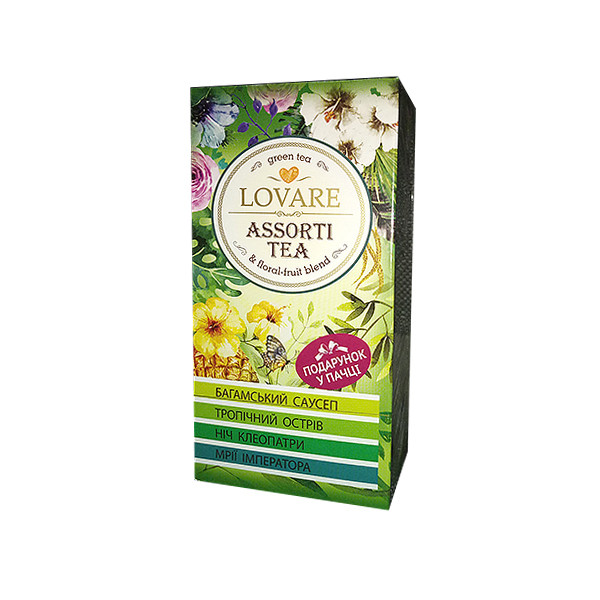 "Чай Lovare ""Зеленый ассорти"" 24п\к"
