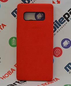 Оригинальный Чехол Alcantara Cover Samsung Galaxy Note 8 N950 (Красный) (Акция!)