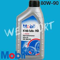 Масло трансмиссионное Mobil  80W-90 1л. GL-5 MOBILUBE HD 80W90 1L