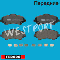 Тормозные колодки Ferodo Volkswagen ROUTAN Передние Дисковые Со звуком износа FDB4074