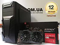 Игровой компьютер Xigmatek, Core i5-4570, RAM 16ГБ, SSD 120ГБ, HDD 500ГБ, Radeon RX570 4GB, гарантия на ПК, фото 1