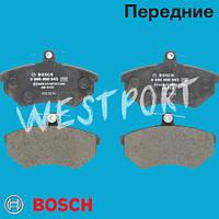 Тормозные колодки Bosch Передние Дисковые Без датчика износа 0 986 460 943
