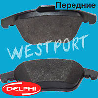 Тормозные колодки Delphi Audi A4 Audi A5 Передние Дисковые Без датчика износа LP2107