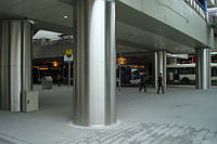 Облицовка / обшивка / отделка лифтов, стен, колонн нержавеющей сталью