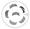 Диск для стемпинга Konad Image Plate M045