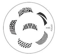 Диск для стемпинга Konad Image Plate M045, фото 1